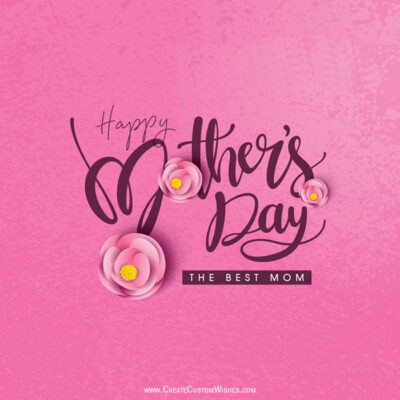 Greetings Card for Mother's Day 2021