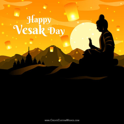 Greetings Card for Vesak Day 2021