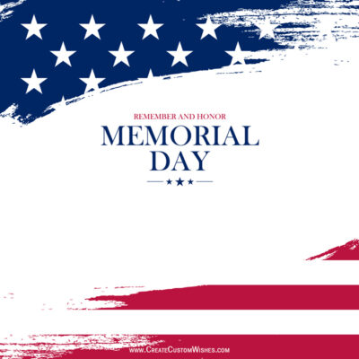 Memorial Day Wishes Images, SMS, Quote