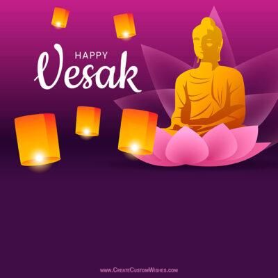 Happy Vesak Day Greeting for Singaporean