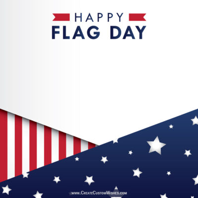 Write Name on Flag Day USA Wishes Images