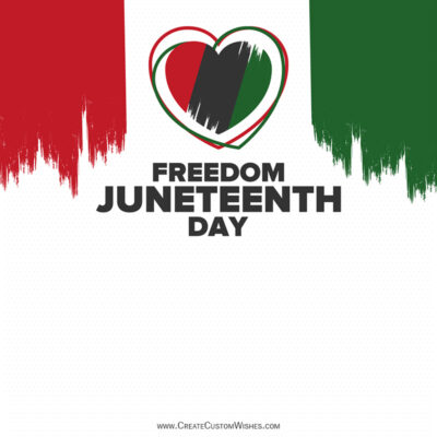 Write Quotes on Juneteenth Greeting Cards