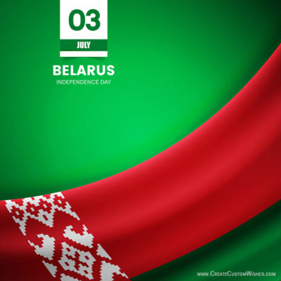 Belarus Independence Day Wishes Images, Quotes