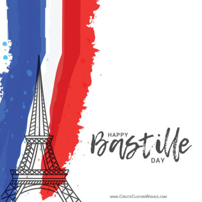 Create a Bastille Day Greeting Cards