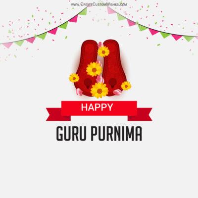 Create Guru Purnima Image for Company