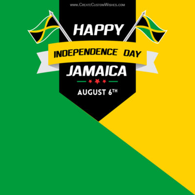 Create Jamaica Independence Day for Business