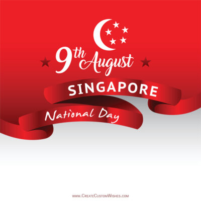 Create Singapore National Day Greetings