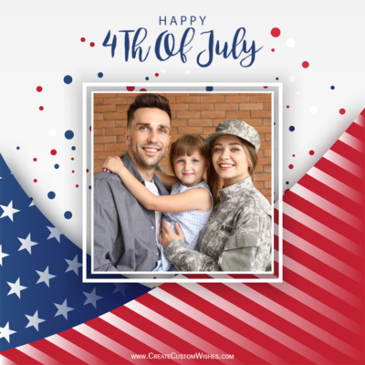 Fourth of July 2021 Wishes with Photo