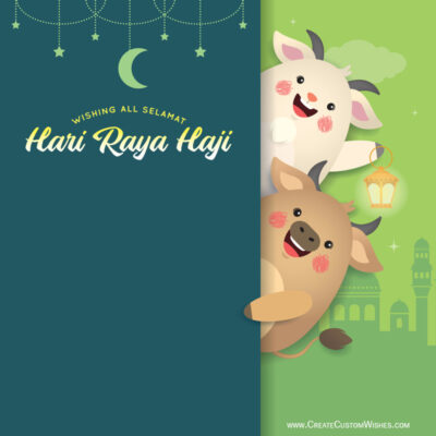 Greeting Cards for Hari Raya Haji 2021