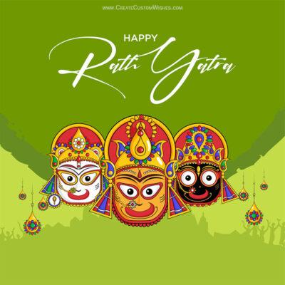 Greeting Cards for Jagnnath Rath Yatra 2021