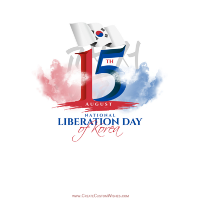 Greeting Cards for National Liberation Day of Korea 2021