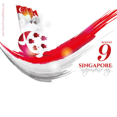 Greeting Cards for Singapore National Day 2021