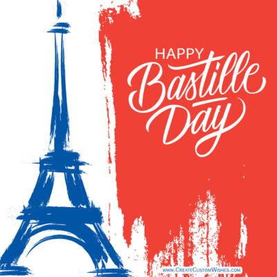 Greeting cards for Bastille Day 2021
