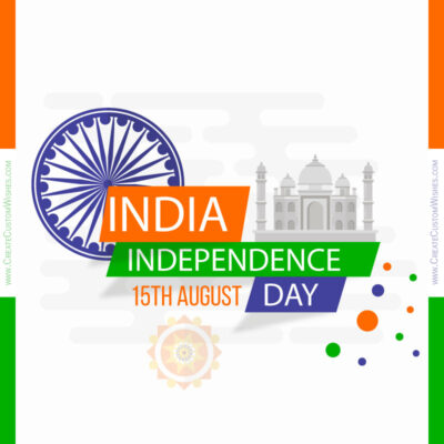 Create Independence Day Greetings for Company