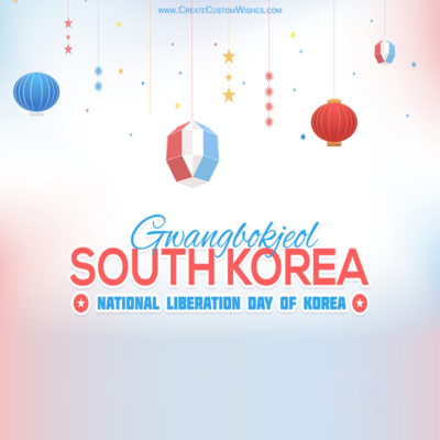 National Liberation Day of Korea Wishes Images, Messages, Quotes