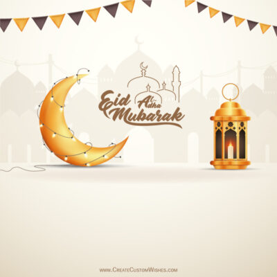 Online Create Eid al-Adha Greeting Card