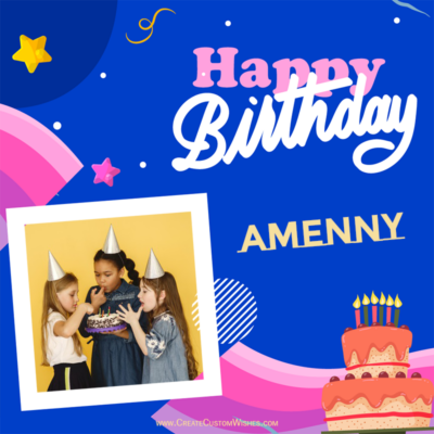 Online Make Birthday Card with Photo