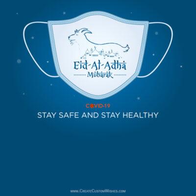 Stay Safe & Healthy Eid al-Adha Greetings