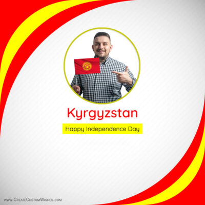 Add Photos on Kyrgyzstan Independence Day Image