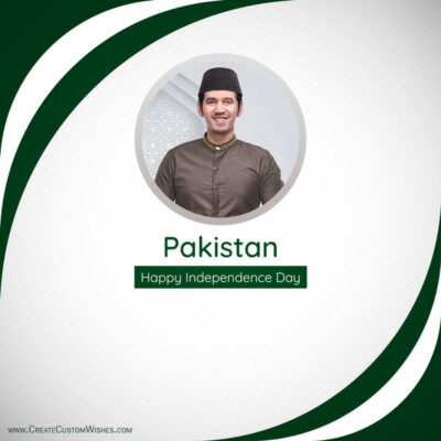 Add Photos on Pakistan Independence Day Image