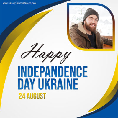 Add Photos on Ukraine Independence Day Image