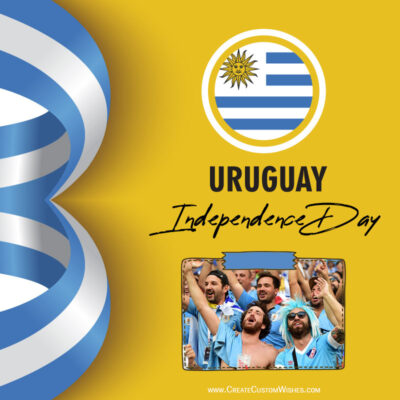 Add Photos on Uruguay Independence Day Image