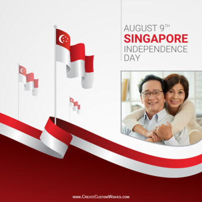 Create Singapore National Day 2021 with Your Photo - Frame