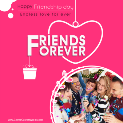 Friendship Day 2021 Image with Photo Frame