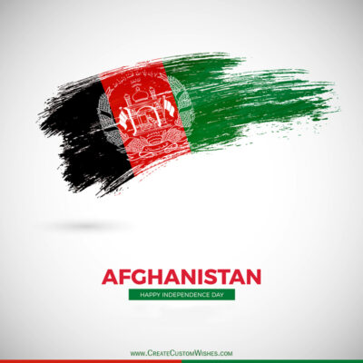 Greeting Cards for Afghanistan Independence Day 2021