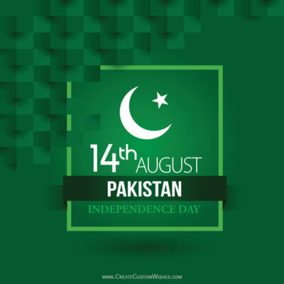 Greeting Cards for Independence Day of Pakistan 2021