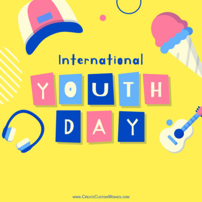 Greeting cards for International Youth Day
