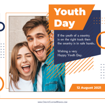 International Youth Day Wishes with Photo