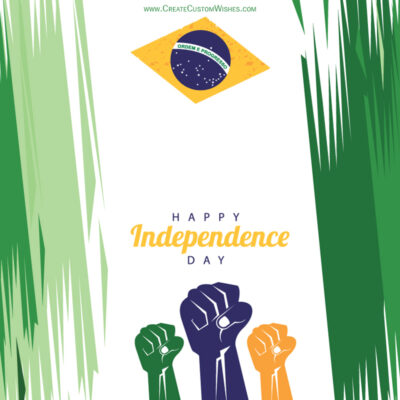 Brazil Independence Day with Name Wishes