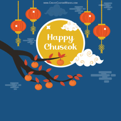 Create Chuseok 2021 Festival Wishes Images