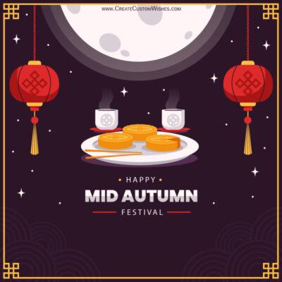 Create Mooncake Festival 2021 Wishes Image