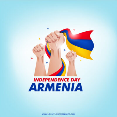 Greeting Cards for Independence Day of Armenia 2021
