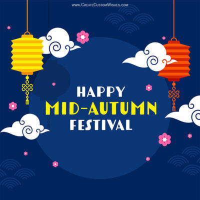 Greeting Cards for Mid-Autumn Festival 2021