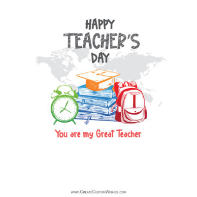 Greeting cards for Teachers Day 2021