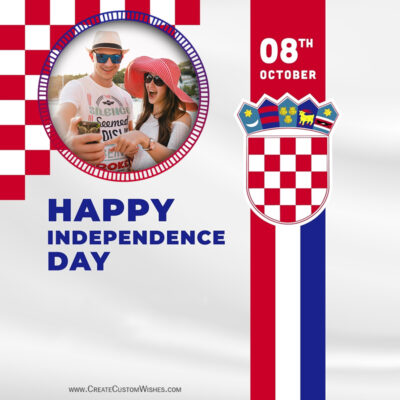 Croatia Independence Day Wishes with Photo