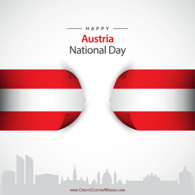 Greeting Cards for Austria National Day 2021