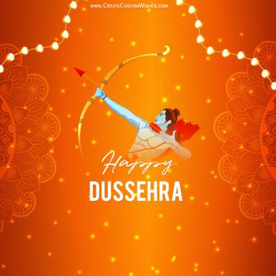 Greeting Cards for Happy Dussehra 2021