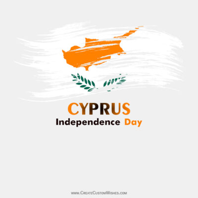 Greeting Cards for Cyprus Independence Day 2021