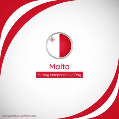 Greeting Cards for Independence Day of Malta 2021
