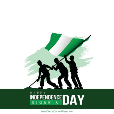 Greeting Cards for Nigeria Independence Day 2021