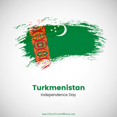Greeting Cards for Turkmenistan Independence Day 2021