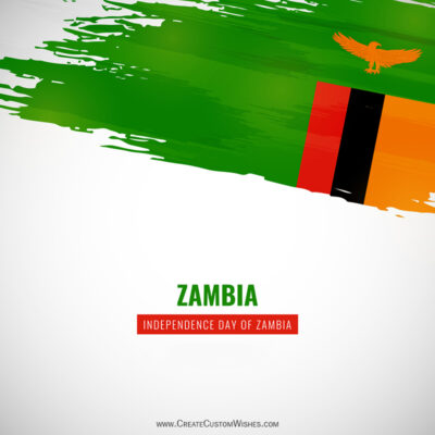 Greeting Cards for Zambia Independence Day 2021