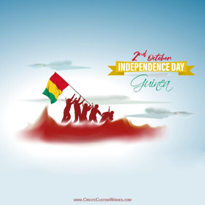 Guinea Independence Day 2021 Wishes Images, Greetings, Messages, Quotes and Status