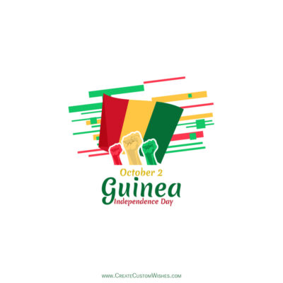 Guinea Independence Day Wishes with Name