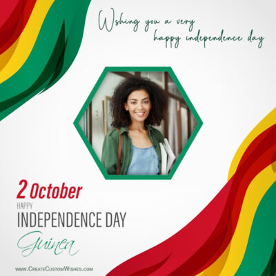 Guinea Independence Day Wishes with Photo