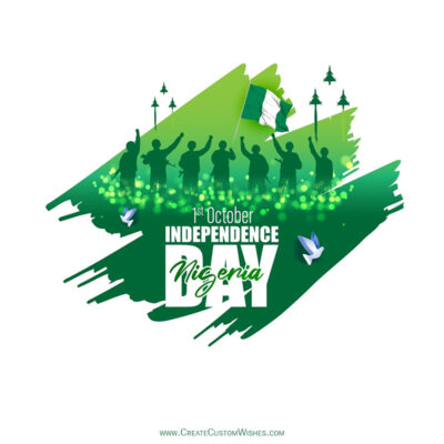 Nigeria Independence Day Wishes with Name